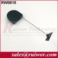 China Adhesive ABS Plate Display Security Tether D - Shaped For Purchase Security wholesale