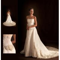 China Graceful Halter bra Customized Wedding Dresses beaded for Summer , Spring , Fall wholesale