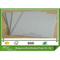 China Huge Stocklot 1.5mm 900gsm Grey Chipboard High Stiffness Recycle Paper wholesale