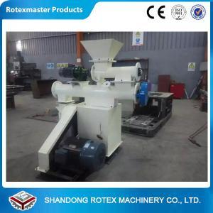 Quality Horizontal Ring die Animal Feed Pellet Machine 55 ke power large capacity for sale