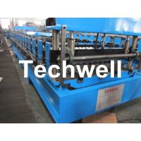 China  0.2mm Roofing Corrugated Sheet Roll Forming Machine with 0 - 15m/min Speed  for sale