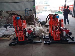 China Spt 50M Soil Sample Test Core Drilling Rig Machine For Geological Exploration wholesale