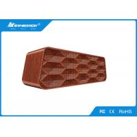 China Multi Function Home Bluetooth Speakers For Android Phone , Wood Shell wholesale