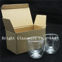 China double wall thermo glasses, double wall wine glasses for wholesale wholesale