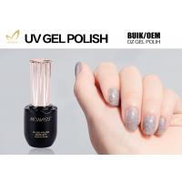 China Eco Friendly Glitter Gel Nail Polish For LED Lamp 30 Seconds Cure Time wholesale
