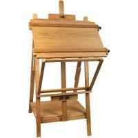 China Portable Table Top Painting Easels For Large Frame , Tabletop Drawing Board Easel 128cm Height wholesale
