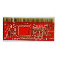 Quality FR-4 1.5mm 4 Layer Immersion Gold PCB with Golden Finger 1/3 oz - 6 oz for sale