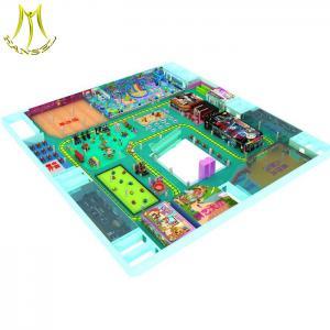 China Hansel   kids plastic tunnel jumping castle kid playground equipment playground wholesale
