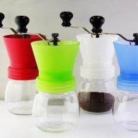 China Coffee Grinder with Ceramic Machinery, Made of Glass and PP Materials wholesale