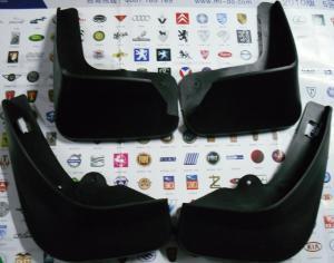 Quality Automotive Rubber Car Body replacement Parts of Mud Flaps Complete set for Citroen C-Quatre for sale