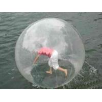 China Transparent Floating Inflatable Walking Water Zorb Ball In Kids And Adult 2m Diameter on sale