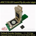 EMMC153 BGA169 alloy SD interface smart digital device GPS device flash memory data recovery burn-in test