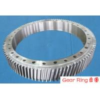 China Custom Gear Ring Flange Alloy Steel Forging Spur For Wind Turbine wholesale