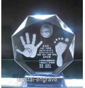 China Custom Crystal Engraving Gift wholesale