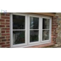 China Double Tempered Glass French Aluminium Casement Windows for Commercial Building wholesale