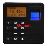 China Fingerprint Standalone Keypad Access Control ABS Plastic 8 Users Password Capacity wholesale