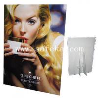China Custom Corrugated Cardboard Standee Displays,Easel Display Stands wholesale