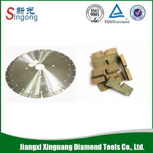 China China Granite Marble Basalt Sandstone Diamond Cutting Segment Manufacturer / Fast Cutting Diamond Segment for Granite on sale