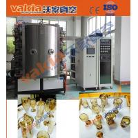 Wholesale Crystal Cups PVD Coating Equipment Glass Ashtrays Gold Arc Plating Machine from china suppliers