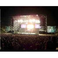 China Catwalk Portable Stage Platforms / Aluminum Folding Stage With 18mm Plywood wholesale