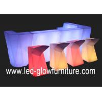China Waterproof IP65 LED Light with bluetooth speaker , Glowing LED bar counter and stools wholesale