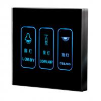 China Touch Screen Wall Switch (WTL-SCD3) wholesale