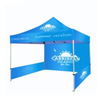 China Heavy Duty Promotional Canopy Tent , Steel Waterproof Promotional Pop Up Tents wholesale