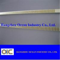 China Chrome Plated Industrial Gear Racks cnc gear rack and pinion on sale