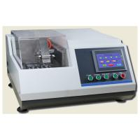 China φ60mm Section Metallographic Equipment  Abrasive Cutter For Material Electronic Element wholesale