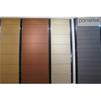 China Colorful Building Wall Panels Frost Resistance For Terracotta Rainscreen System wholesale