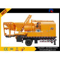 China 380v Concrete Mixer Pump Truck Twin - Shaft Open Hydraulic System wholesale