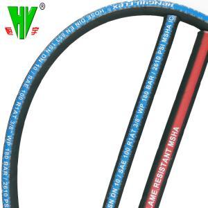 China MSHA hydraulic hose makers China provide rubber 3000 psi SAE 100 r1 hose wholesale