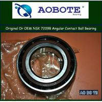 China Low Vibration 7209B NSK Ball Bearings Angular Contact With High Speed wholesale