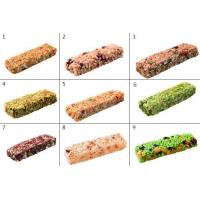 Buy cheap Vegetable Juice Dried Fruits Flavor Sweet Meal Bar , Healthy Snack Bars from wholesalers