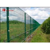 Buy cheap Anti Climb PVC Coated Wire Mesh Fence Panels 1530mm 1830mm 2030mm For Multi from wholesalers