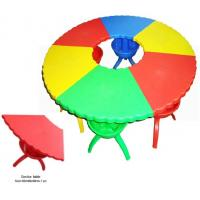 China Hot sale School Furniture import LLDPE Kids plastic table and chair for perschool on sale