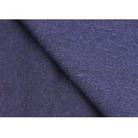 Buy cheap Durable 100% Cotton Indigo Denim Jersey Fabric For T Shirt SGS Standard from wholesalers