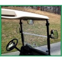 China Left And Right Golf Cart Rear View Mirror 180 Degree Views Black Color wholesale