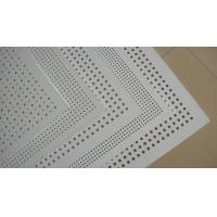 China PERFORATED GYPSUM BOARD 595x595mm wholesale