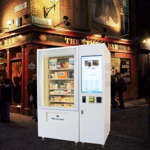 China OEM ODM Mini Mart Vending Machine Sandwich Salad Fruit Vending Machine With Elevator wholesale