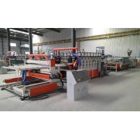 China Wood Plastic Double Screw Extruder , Foam Board Extrusion Line wholesale