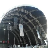 China 300x300mm bolt / stage  / strong capacity aluminum stage box truss and display truss wholesale