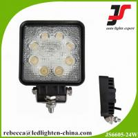 China Whosale price 6500k 10v-30v led automotive work light 24w cree led work light on sale