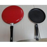 China 22cm Ceramic Coating Fry Pan , Nonstick Pizza Pan , Spiral Bottom wholesale