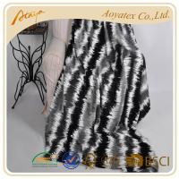 China Polyester Printing Super Soft Flannel Fleece Blanket With Gray on sale