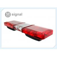 China Red - Blue - Red Emergency LED Light Bar U Shape Bracket 1122mm * 300mm * 152mm wholesale
