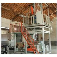 China Plastic Extrusion Process Plastic Film Manufacturing Machines 600-1000mm Width wholesale
