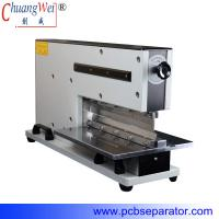 China Pneumatic V Cut Pcb Separator With Two Japan High Speed Steel Linear Blades wholesale