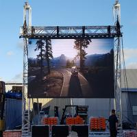 China Full Colour Led Video Wall Rental , Outdoor Led Screen For Car Show / Stage wholesale