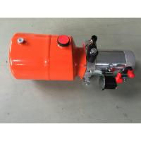 China Orange 6L Steel Tank DC Compact Hydraulic Power Unit for Dump Trailer wholesale